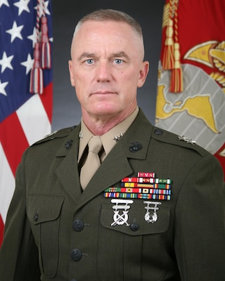 Official photograph of Major General H. Stacy Clardy, III