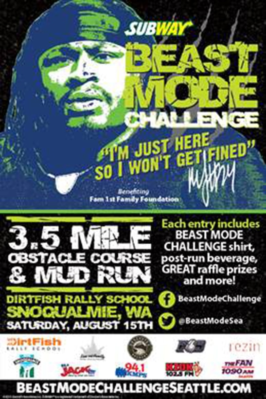 Air Force Reserve presents the 2015 Subway Beast Mode Challenge