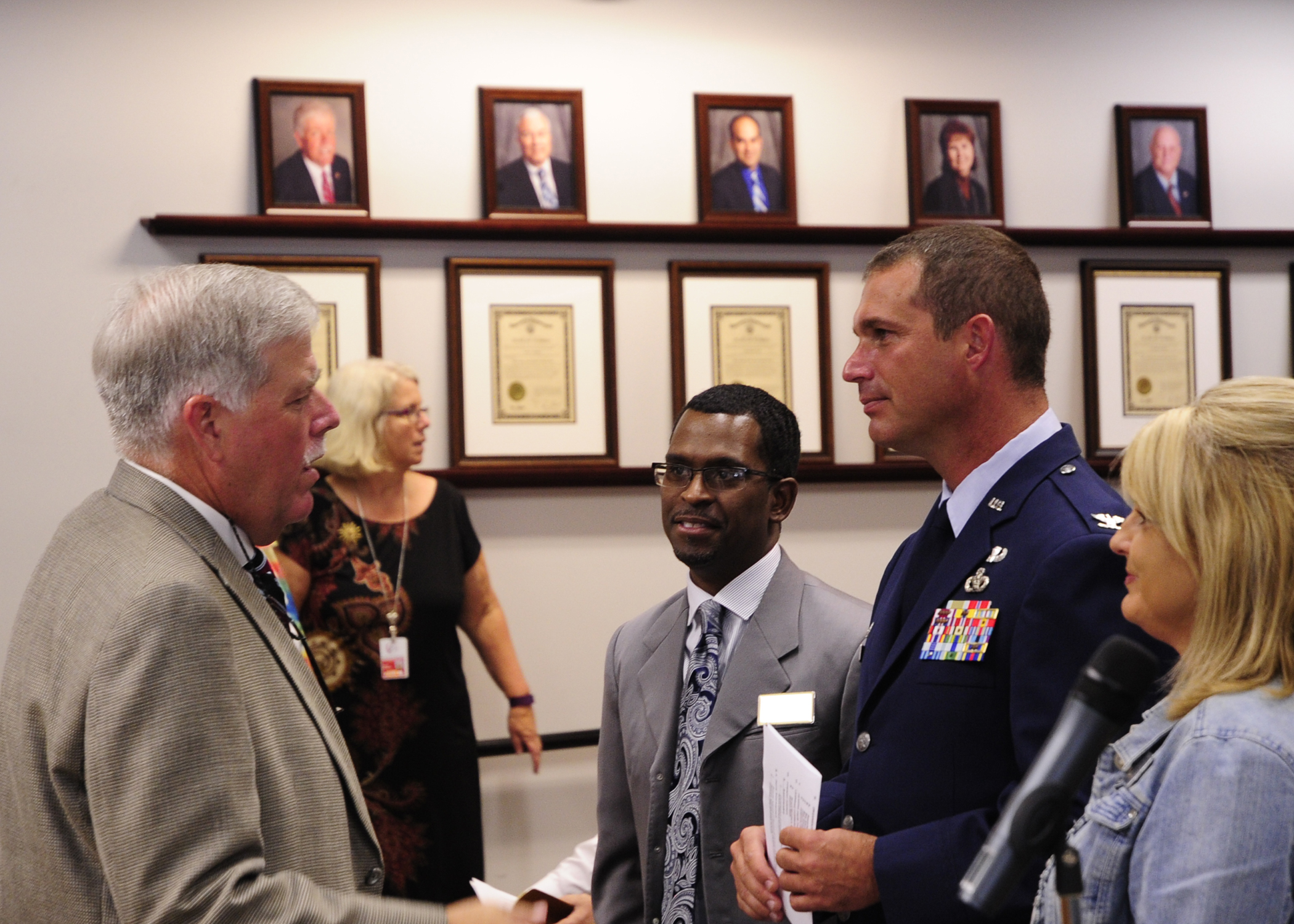 Service to Military Children Recognized by School Board