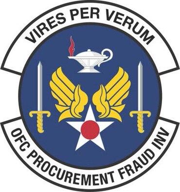 Air Force Procurement Fraud organizational patch
