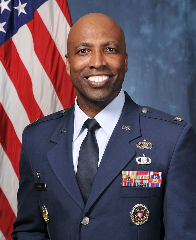 Col. Troy Dunn, the 10th Air Base Wing commander. (U.S. Air Force photo)