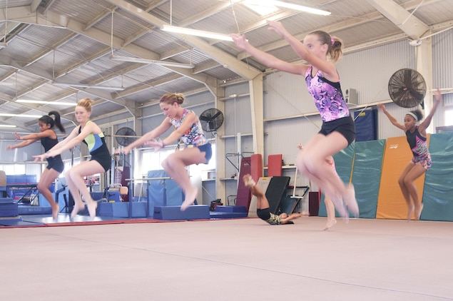 Upcoming competition pushes young gymnasts to new heights > Marine Corps  Base Hawaii > News Article Display