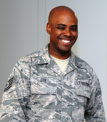Tech. Sgt. Kerry Guy, 175th Mission Support Group contract specialist, is the spotlight Airman for the month of August for the Maryland Air National Guard. (U.S. Air National Guard photo by Airman 1st Class Enjoli Saunders/RELEASED)