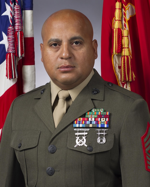 Sergeant Major, 1st Battalion, 7th Marines