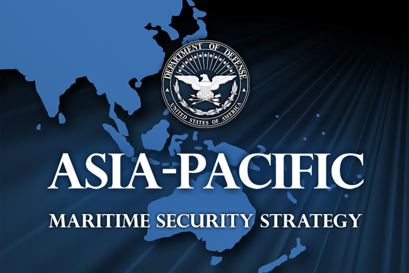 US Outlines AsiaPacific Maritime Security Strategy US - Map of us allies in the asia pacific