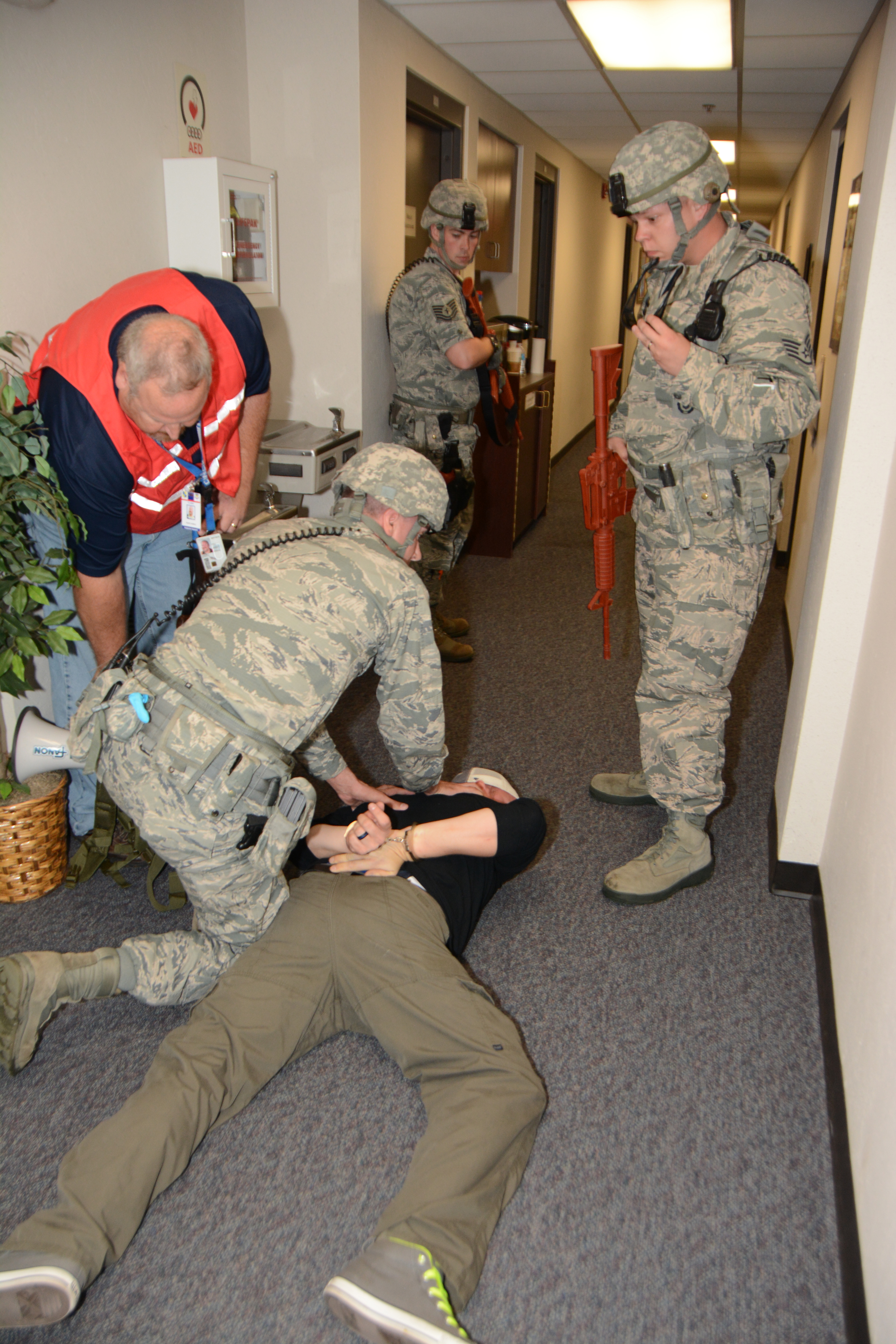 Installation-wide Active Shooter exercise slated > Tinker