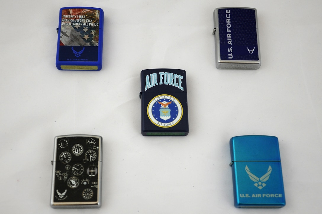 Products licensed by the United States Air Force Trademark and Licensing Office.