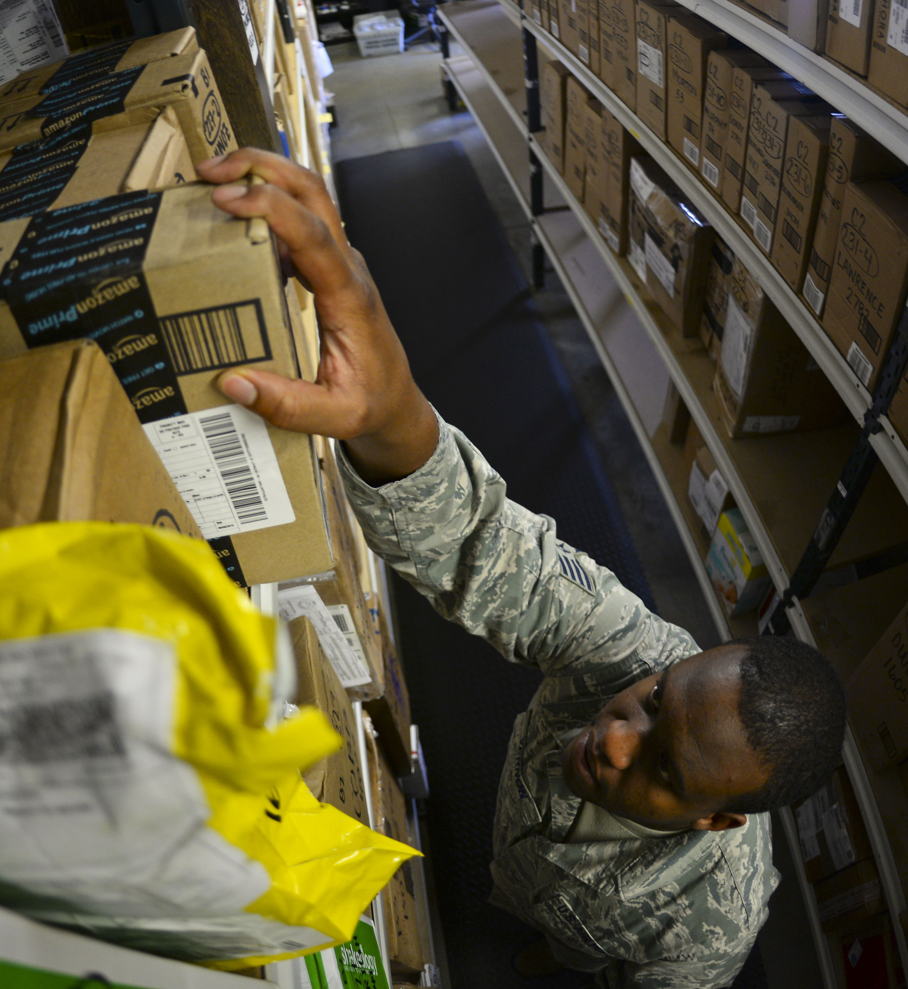 Raf Mildenhall Post Office Implements New Usps Postal Process