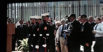 Detachment Havana MSG during the Flag Raising Cromony