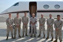 CMC Visits Detachment in Kuwait