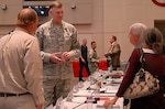 DLA Director Air Force Lt. Gen. Andy Busch talks to industry and military service partners about Better Buying Power 3.0 during a Medical Captains of Industry meeting at DLA Troop Support in Philadelphia May 12.