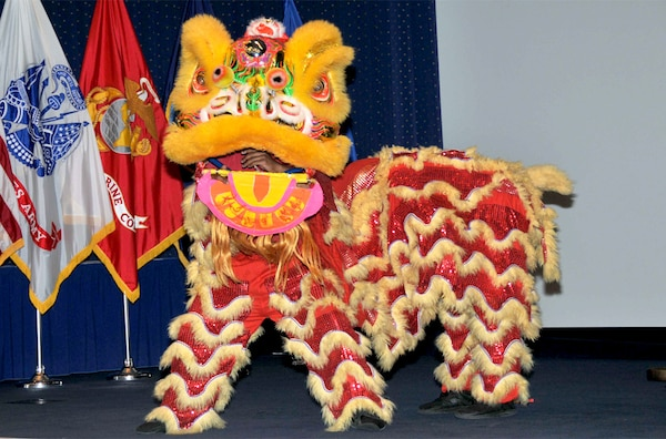 The Lion Dance is performed by Wong People, a Washington, D.C., based group that also gives kung fu and tai chi lessons. The dance is usually done for luck during the Chinese New Year or important occasions such as business openings and wedding ceremonies.