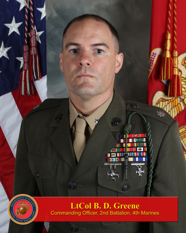 Lieutenant Colonel Greene > 1st Marine Division > Leaders