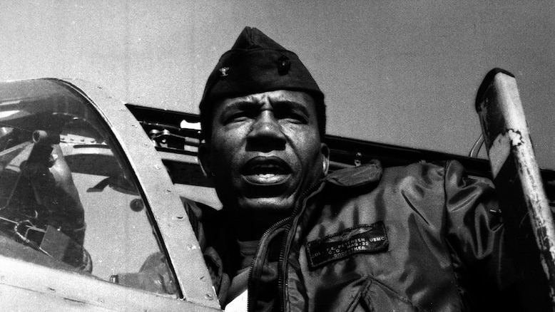Lt. Gen. Frank E. Petersen, Jr. (ret.) the first African-American Marine Corps aviator and the first African-American Marine Corps general, died Aug. 25, 2015. Petersen served during the Korean War in 1953 and Vietnam in 1968. During his career, he flew more than 350 combat missions and more than 4,000 hours in various military aircraft.
