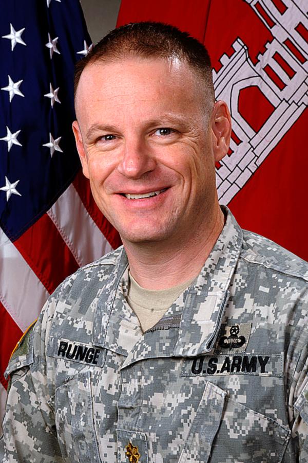 Maj Jared E Runge Gt Buffalo District Gt Bio Article View
