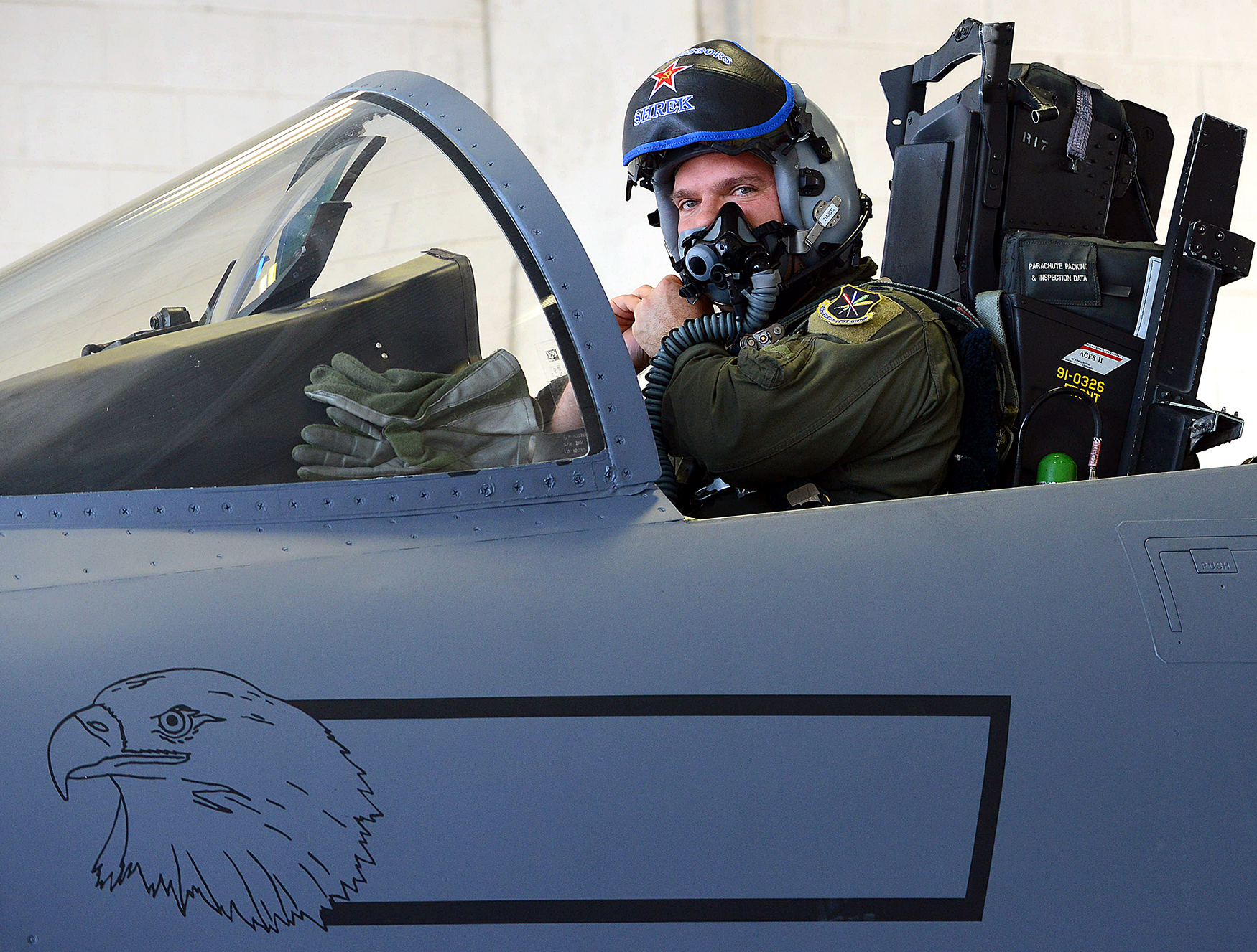 US Military News • 339th Flight Test Squadron F-15 Pilots out of Robins Air Force Base Georgia USA