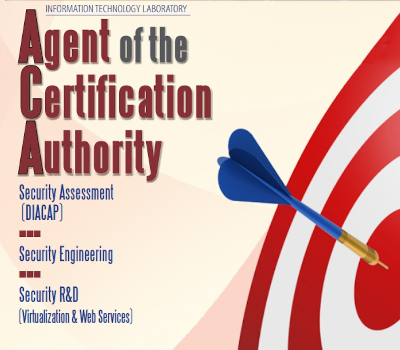 ITL's Agent of the Certification Authority (ACA)enables organization-wide integration of information assurance, making sure your security is right on target.