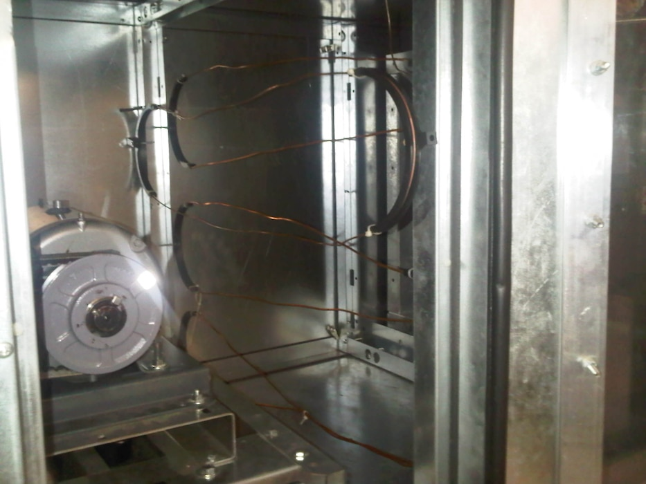 Pre-funtional check-out and visual inspection of the blower motor and thermostat positioning. This typically occurs during the construction phase of the commissioning process.
