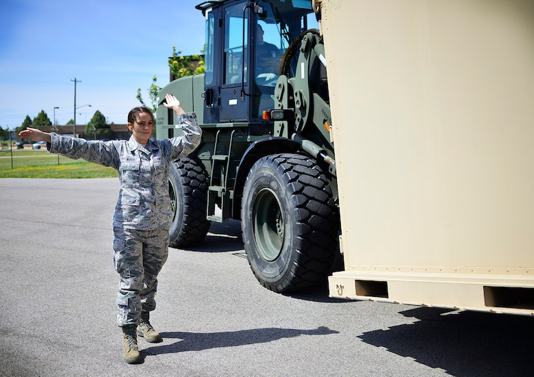 Senior Airman Kristin Wood, 30th Aerial Port Squadron, Air Transportation Specialist, Niagara Falls Air Reserve Station, N.Y. was selected as the 914th Airlift Wing Spotlight Performer for August 2015.  (U.S. Air Force photo by Tech. Sgt. Stephanie Sawyer)