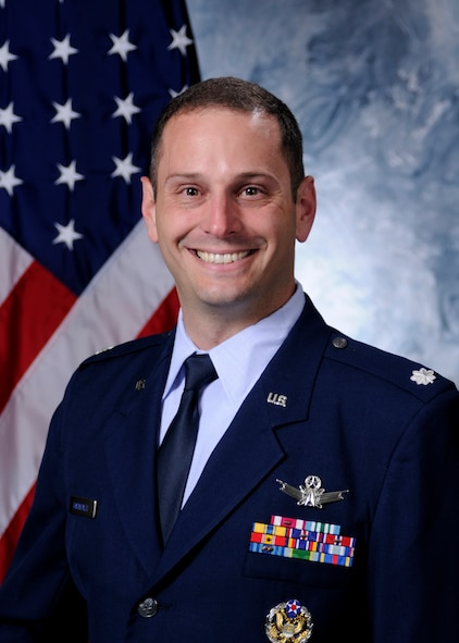 Lt. Col. Gregory Karahalis is the 50th Operations Group deputy commander at Schriever Air Force Base, Colorado. (U.S. Air Force photo)