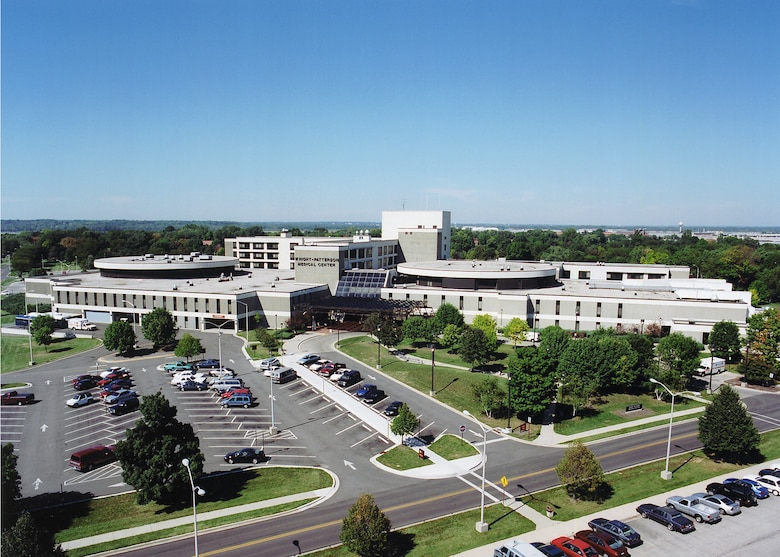 Aerial view of the Wright-Patterson Medical Center. (Courtesy photo)