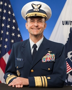 Picture of Vice Commandant of USCG 2015