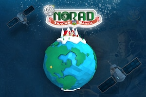 North American Aerospace Defense Command's work tracking Santa's Yuletide journey.
