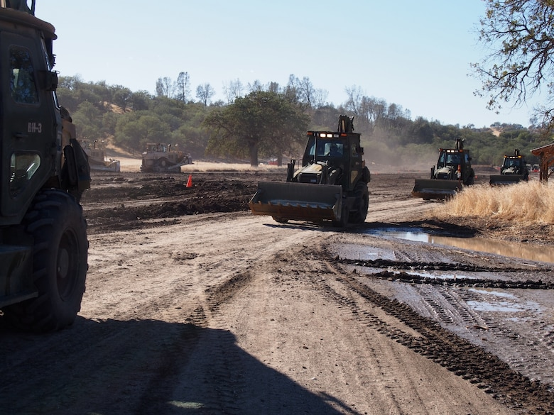 Army Reserve engineers provide critical support to the Total Army mission during deployments and save the Army thousands of dollars through troop projects on installations like Fort Hunter Liggett, Calif.