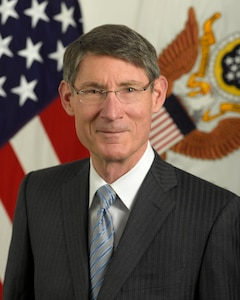 Official photo for Thomas Hawley, Deputy Under Secretary of the US Army.