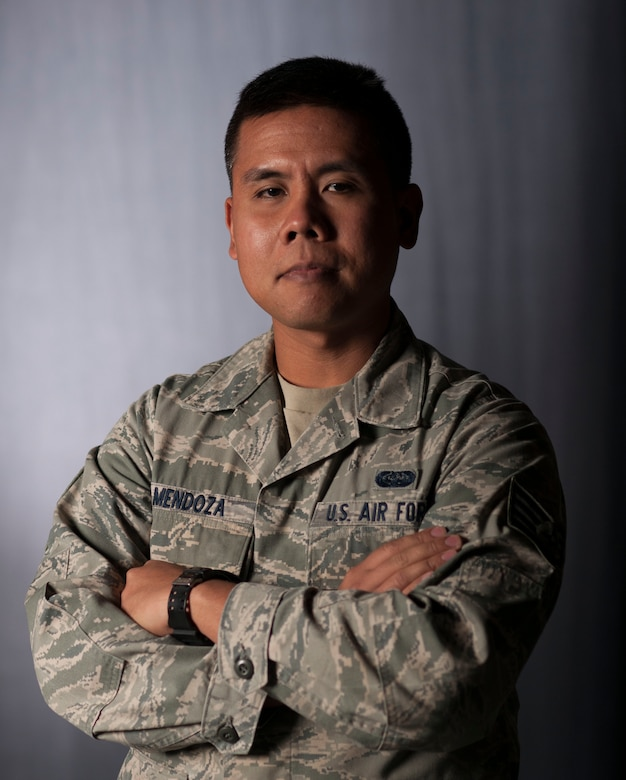 Staff Sgt. John Mendoza, 614th Air and Space Communications Squadron missions systems administrator, poses for a portrait Dec. 2, 2015, Vandenberg Air Force Base, Calif. Mendoza is still recovering from the side effects of taking supplements for weight loss, more than a year after being admitted to the emergency room.  (U.S. Air Force photo by Airman 1st Class Robert Volio/Released)