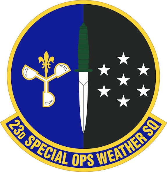 The 23rd Special Operations Weather Squadron falls under the 1st Special Operations Group, one of four groups assigned to the 1st Special Operations Wing. The group plans, prepares and executes special operations and security assistance worldwide in support of theater commanders. (Air Force Courtesy Graphic)