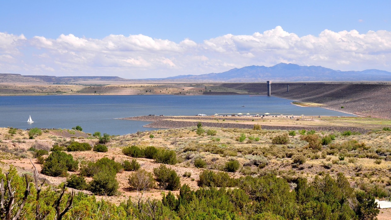 Cochiti Lake, June 28, 2009. Photo by Richard Banker.