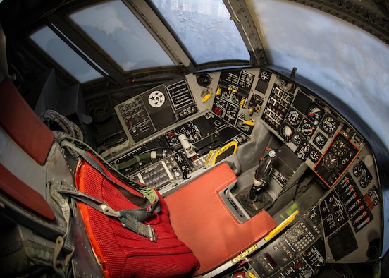 DAYTON, Ohio -- Northrop Tacit Blue cockpit at the National Museum of the United States Air Force. (U.S. Air Force photo by Ken LaRock)