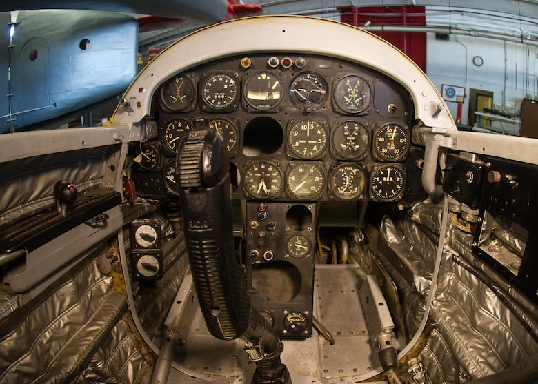 DAYTON, Ohio - Northrop X-4 cockpit at the National Museum of the U.S. Air Force. (U.S. Air Force photo)