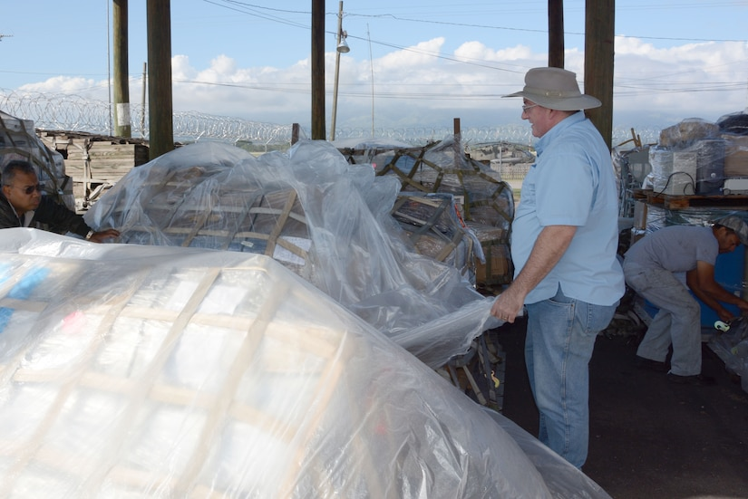 Dean Lowman, founder and president of Heavens Reach Ministries and Alcanzando Desde El Cielo Ministries, poses for a portrait while picking up donated cargo on Soto Cano Air Base, Honduras, Dec. 3, 2015. The cargo was donated by Heavens Reach Ministries in the United States and utilized the Denton Program, a program that allows private citizens and non-government organizations to use space available on U.S. cargo planes to ship humanitarian supplies to countries in need. (U.S. Air Force photo by Martin Chahin/Released)
