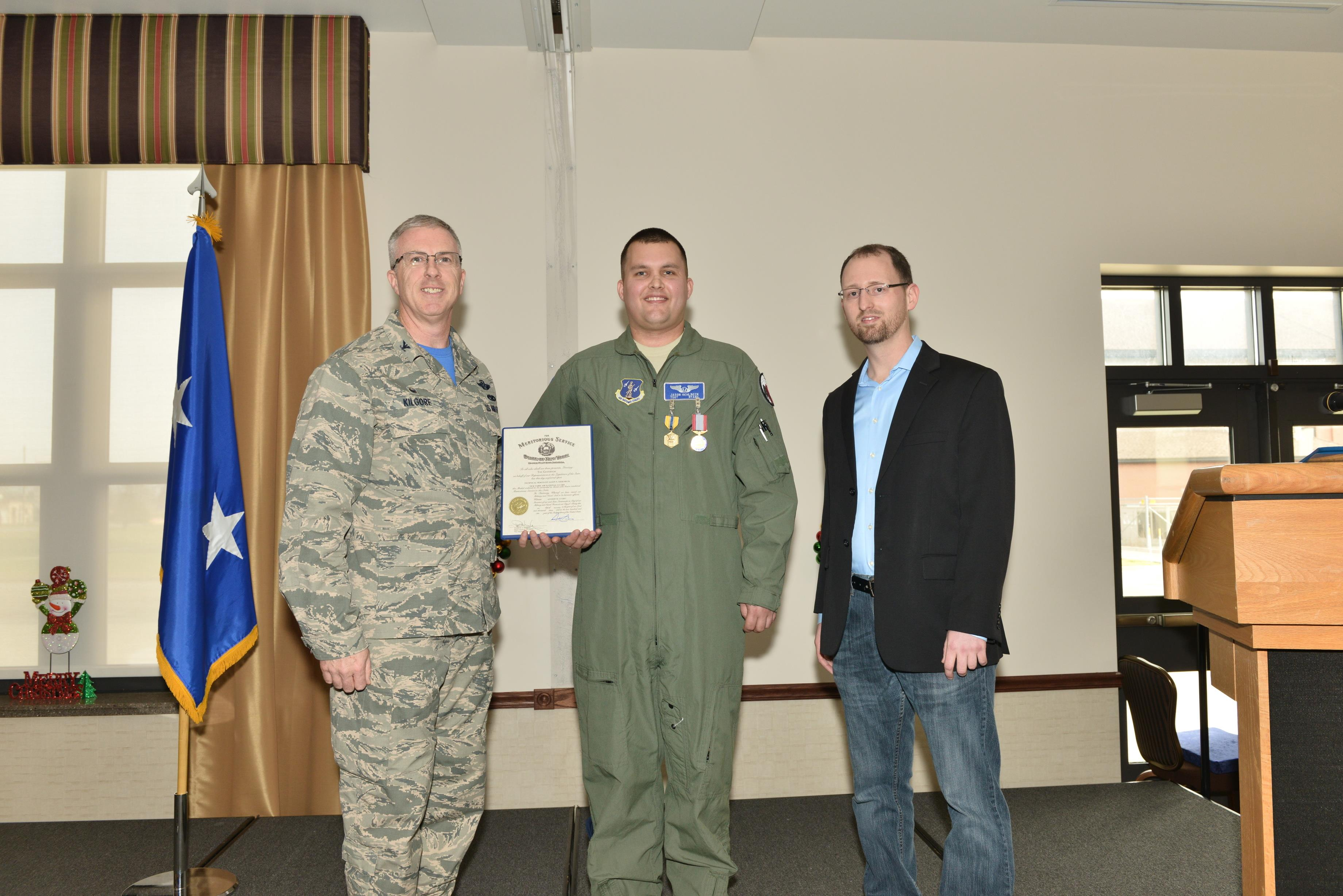 Niagara Airman Meets Man He Saved With Cpr Receives Medals