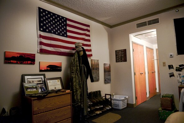 Air Force Base Dorm Rooms