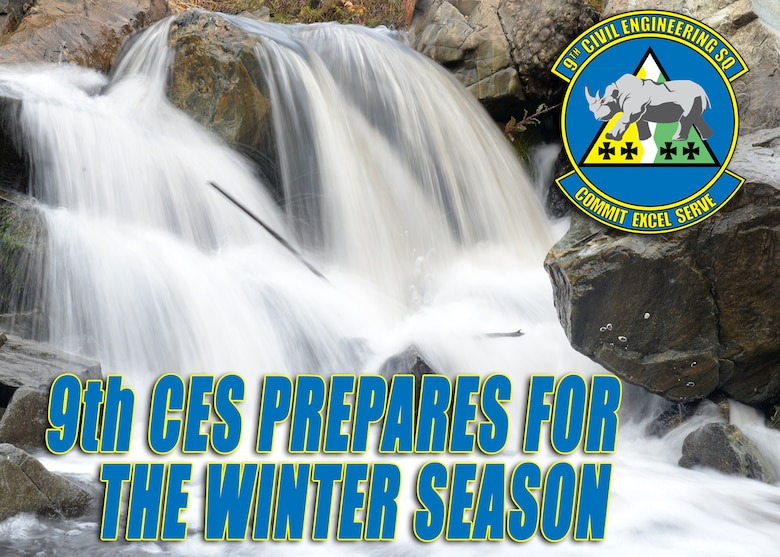 9th CES prepares for the winter season (U.S. Air Force graphic by Airman 1st Class Ramon A. Adelan)