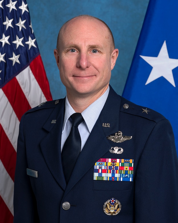 Brig. Gen. Carl E. Schaefer, 412th Test Wing commander. (U.S. Air Force photo)