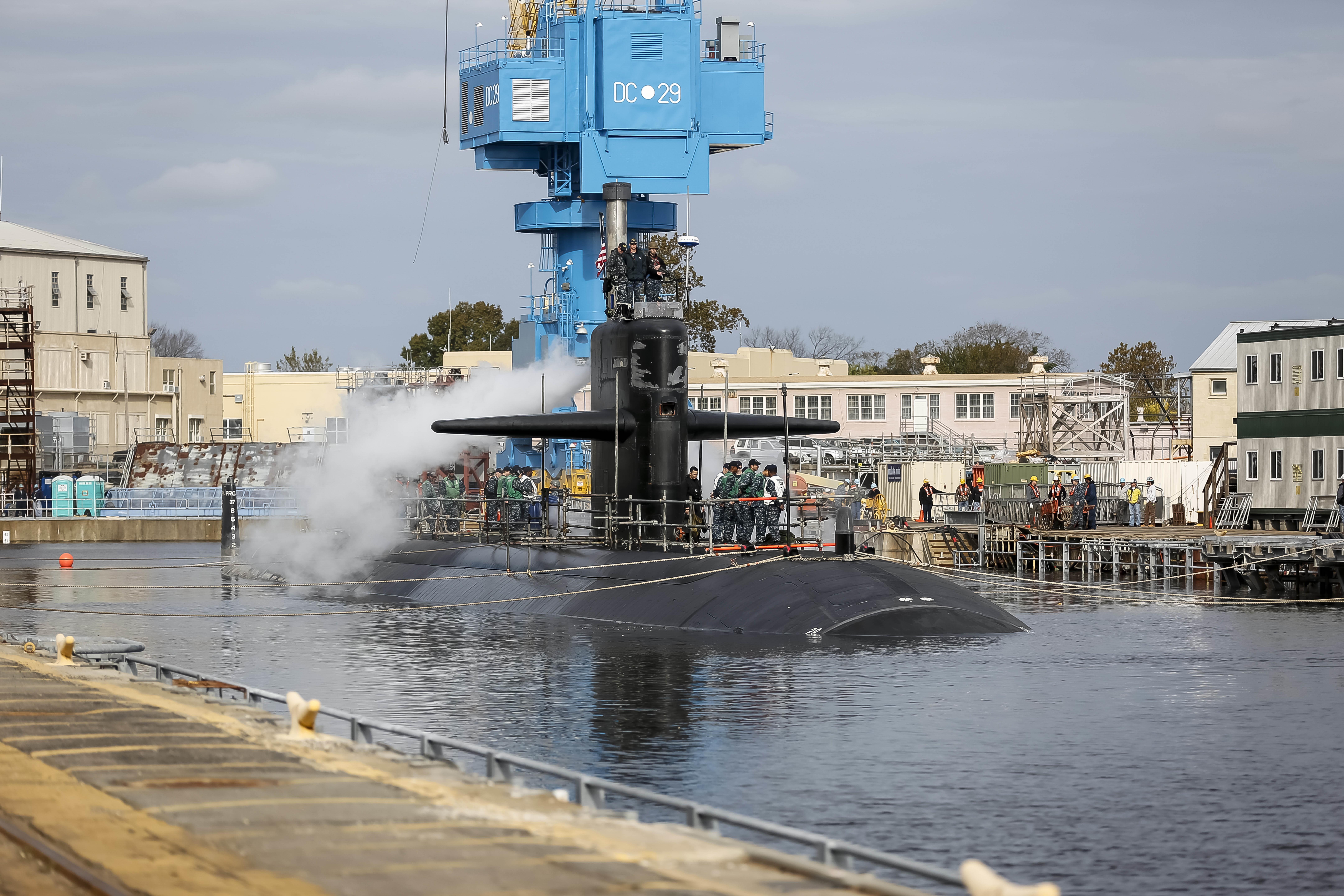 Norfolk Shipyard Returns Helena To The Fleet Gt Naval Sea