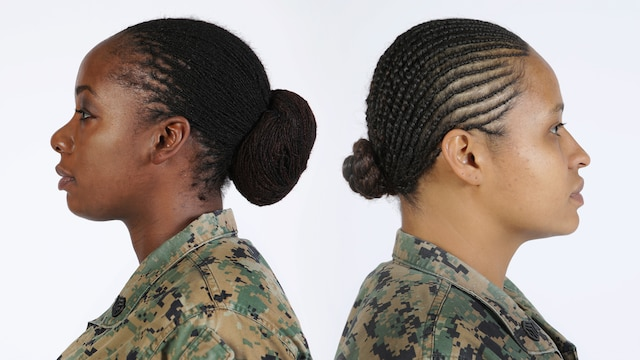 The 37th Commandant of the Marine Corps Gen. Robert B. Neller approved lock and twist hairstyles in uniform, Dec. 14, 2015.  The results of Uniform Board 214 and 215 were released as part of Marine Administrative Message 622/15.