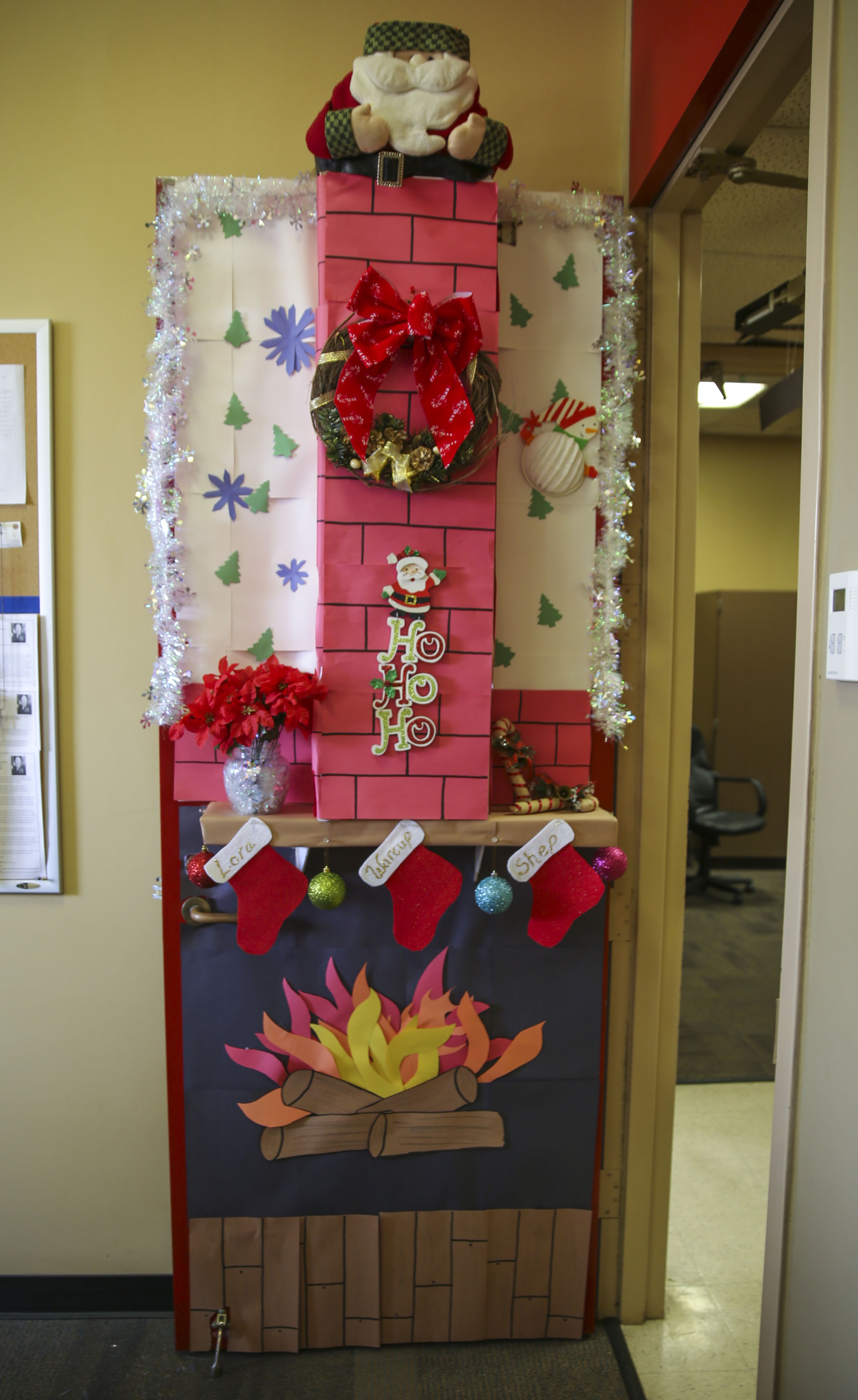 Multiple Decorated Doors Were Judged In A Contest At Marine Corps Recruit Depot  San Diego,