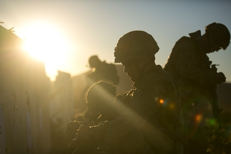 Japanese Ground Self-Defense Force personnel inspect their targets to confirm the battle sight zeroes of their weapons during live-fire training at Bradshaw Field Training Area, Australia, July 18, 2015. Marines with Fox Company, Battalion Landing Team 2nd Battalion, 5th Marines, 31st Marine Expeditionary Unit, and JGSDF service members zeroed their weapons before conducting further live-fire training as part of Talisman Sabre 2015. Talisman Sabre is a major bilateral exercise that enhances the combat readiness and interoperability of U.S. and Australian forces across a range of military operations. The 31st MEU is participating in the exercise while deployed on its regularly scheduled Fall Patrol of the Asia-Pacific region. (U.S. Marine Corps photo by Lance Cpl. Brian Bekkala/Released)