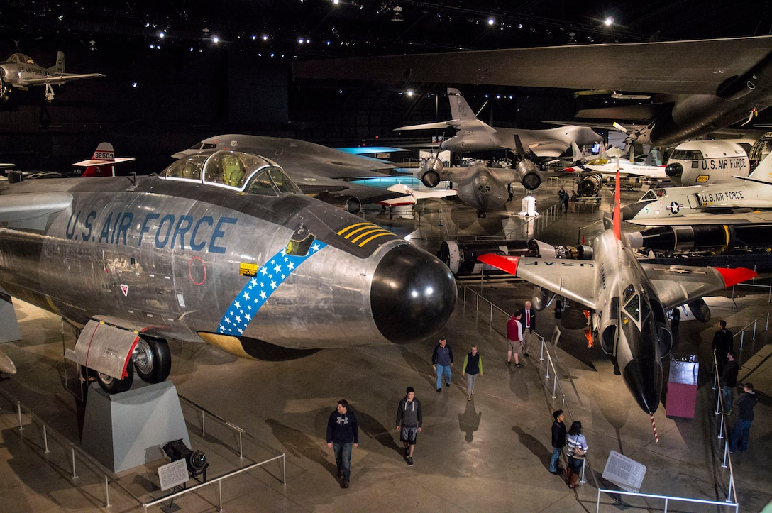 Cold War Gallery at the National Museum of the U.S. Air Force. (U.S. Air Force photo)