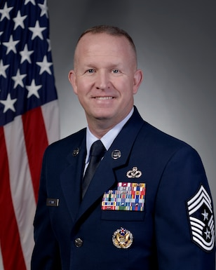 Command Chief Master Sgt. Robert Rodewald