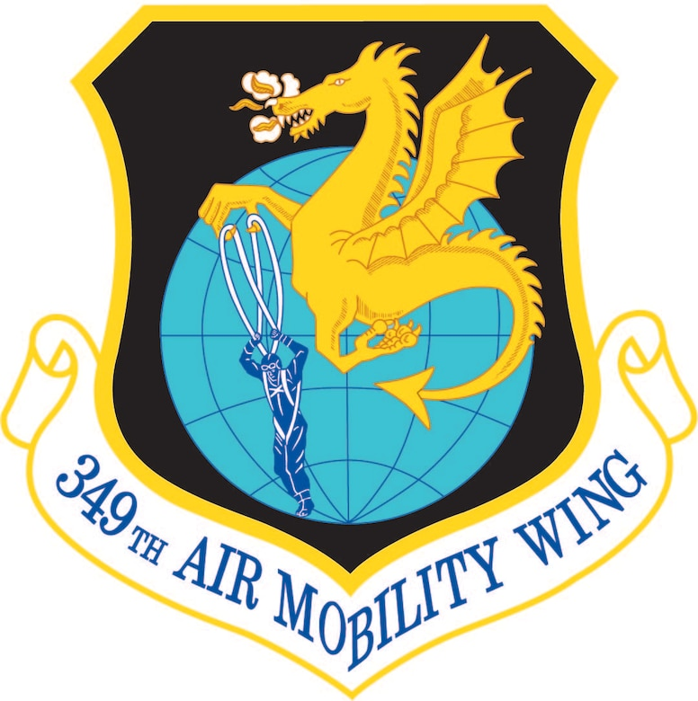 349th Air Mobility Wing Logo/Patch