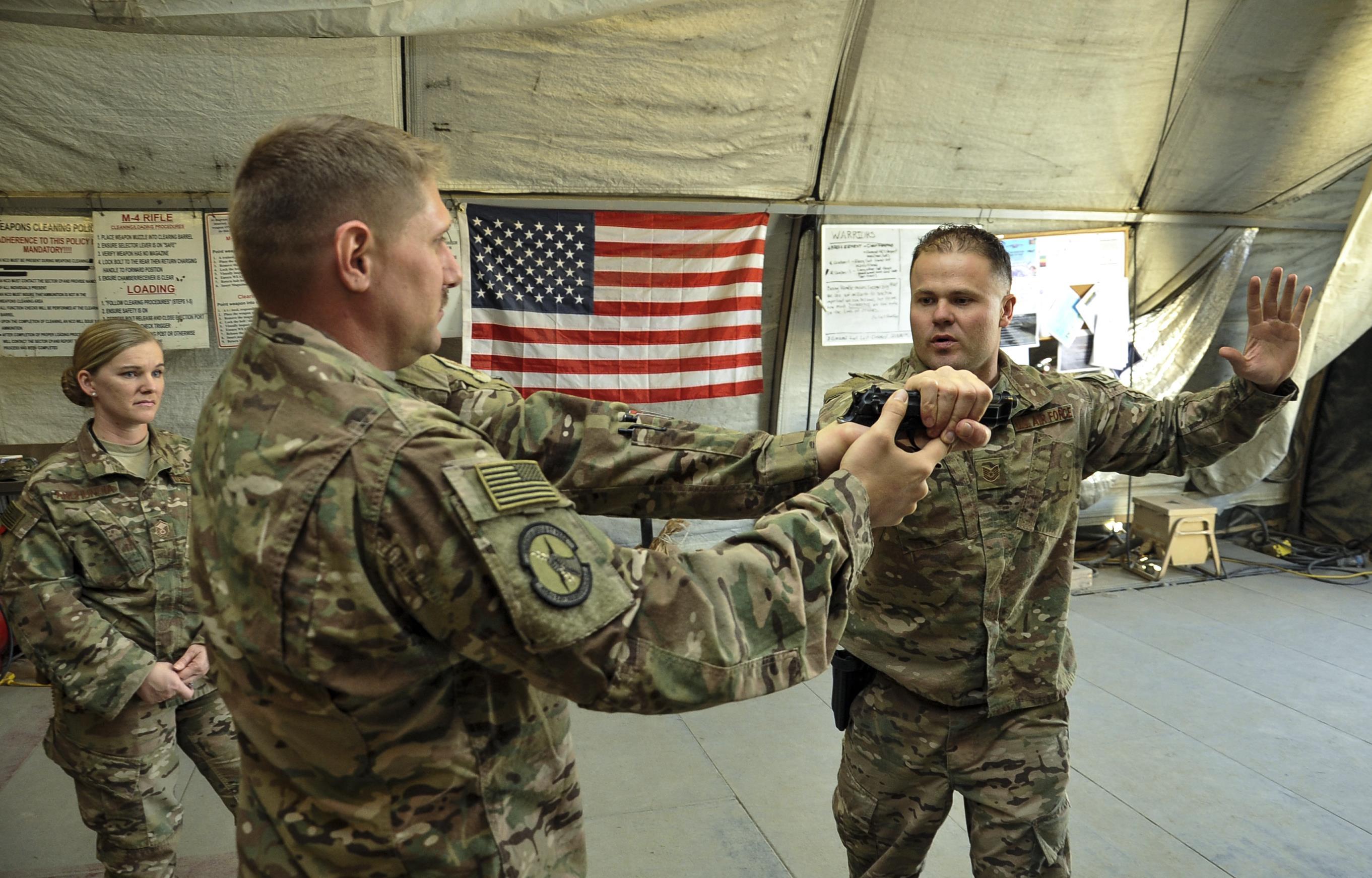 Deployed Defenders: Check Six program prepares Airmen for their