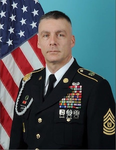 Command Sergeant Major Andrew Lombardo