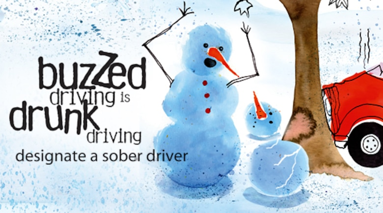 Air Force Materiel Command is promoting sober driving during the holiday season.