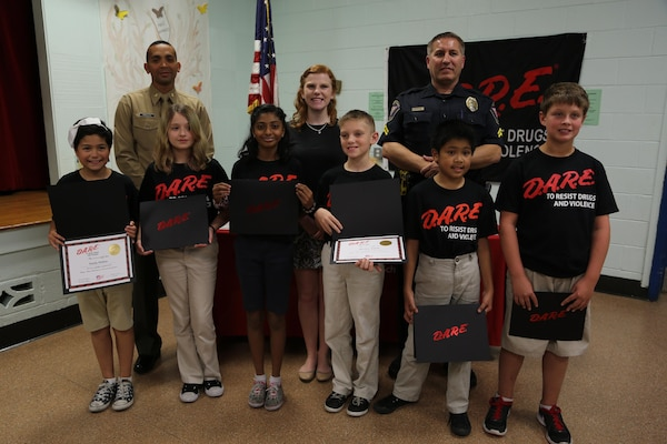 5th graders learn to say no to drugs | Shandi (Dix) Pase